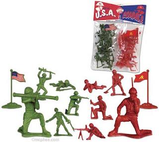 soldados usa contra soldados comunistas