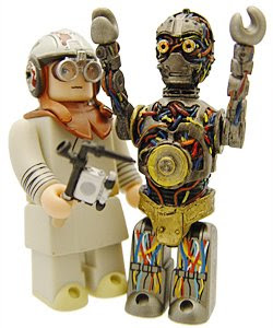 luke skywalker y c3po