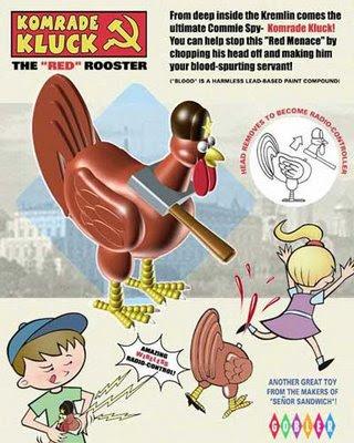 cortar el cuello a la gallina, un bonito juego