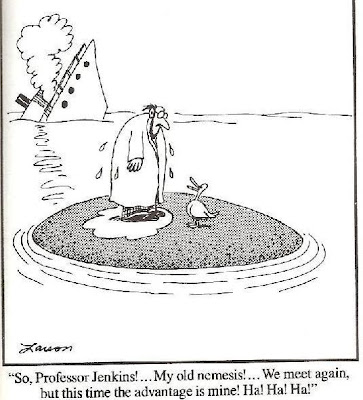Far Side duck