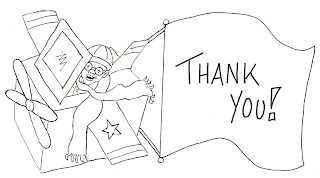 thank you coloring pages airplane - Thank You Coloring Pages