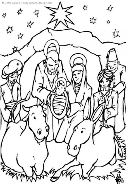 Christmast Coloring Pages Happy Holiday Images Magazine