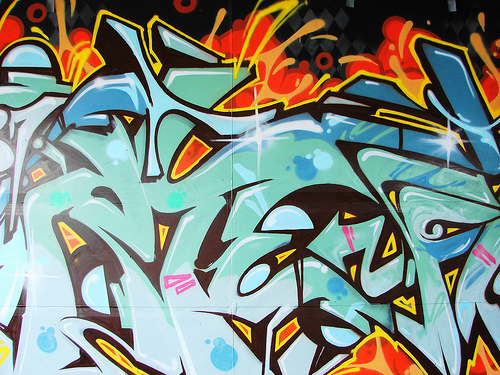 graffiti desktop wallpaper. Amazing Graffiti Art