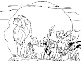 Guard Lion Coloring Pages Printable