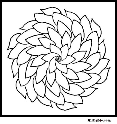 Free Printable Coloring Sheets on Flower Coloring   Free Printable Coloring Sheets