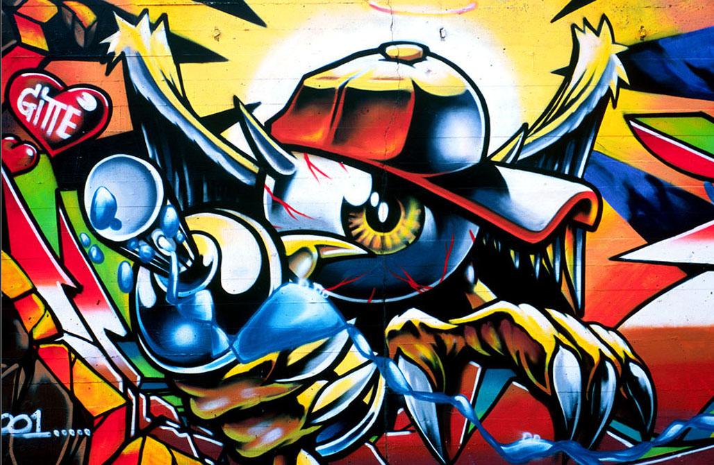 Cool Graffiti Wallpapers