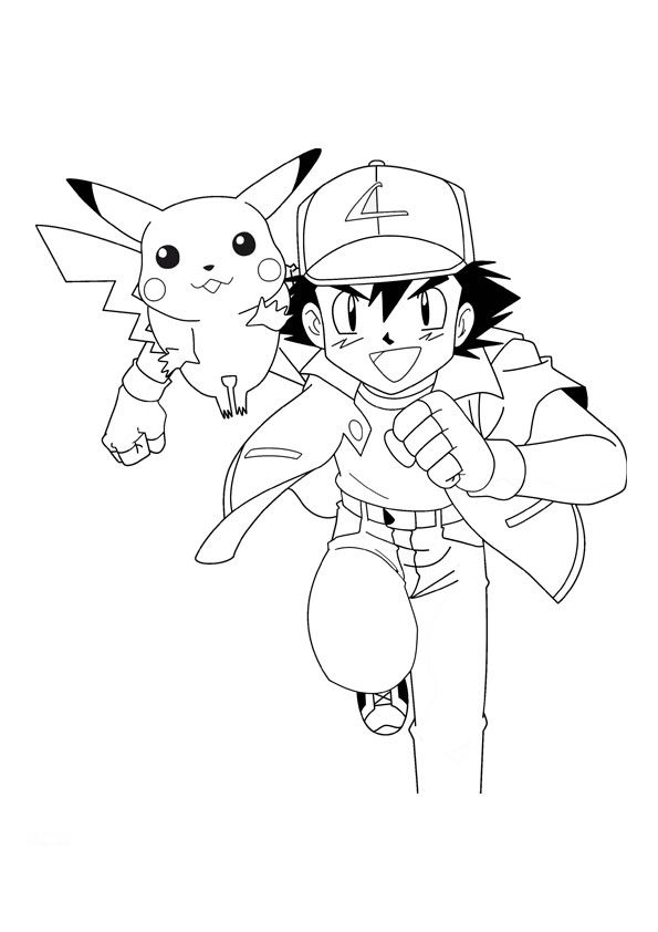 Free Pichu Pokemon Coloring Pages