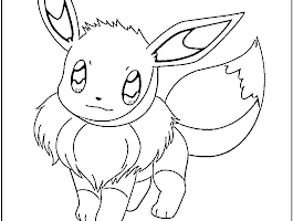 Pokemon Valentine Coloring Pages