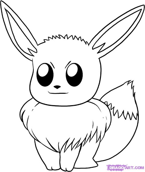 Cinderella mouse coloring pages for Pokemon eevee coloring pages
