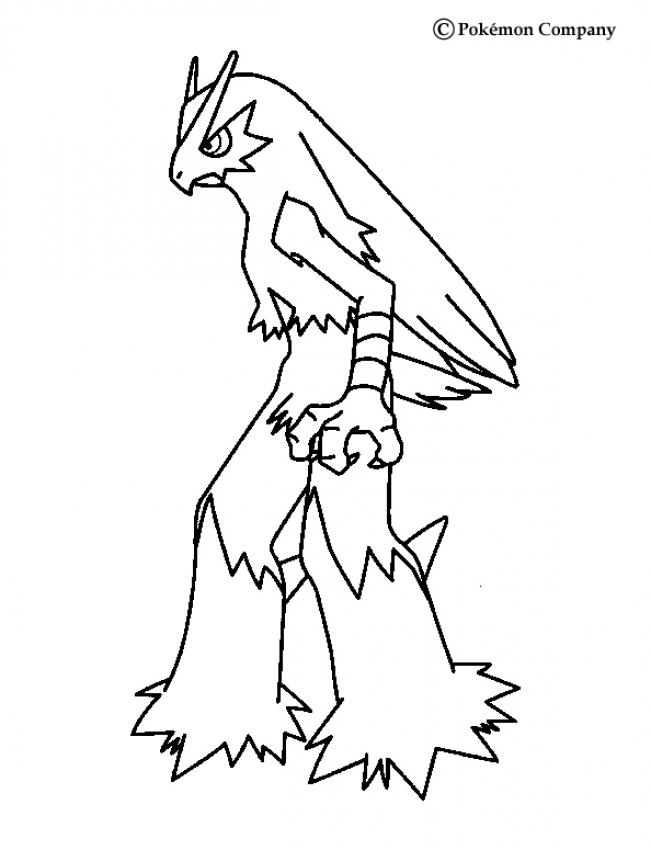 coloring pages blaziken - photo#9