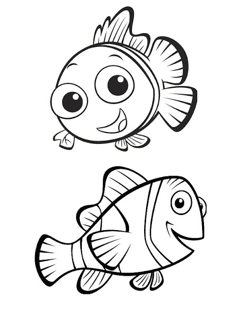 disney coloring pages finding nemo - photo#17