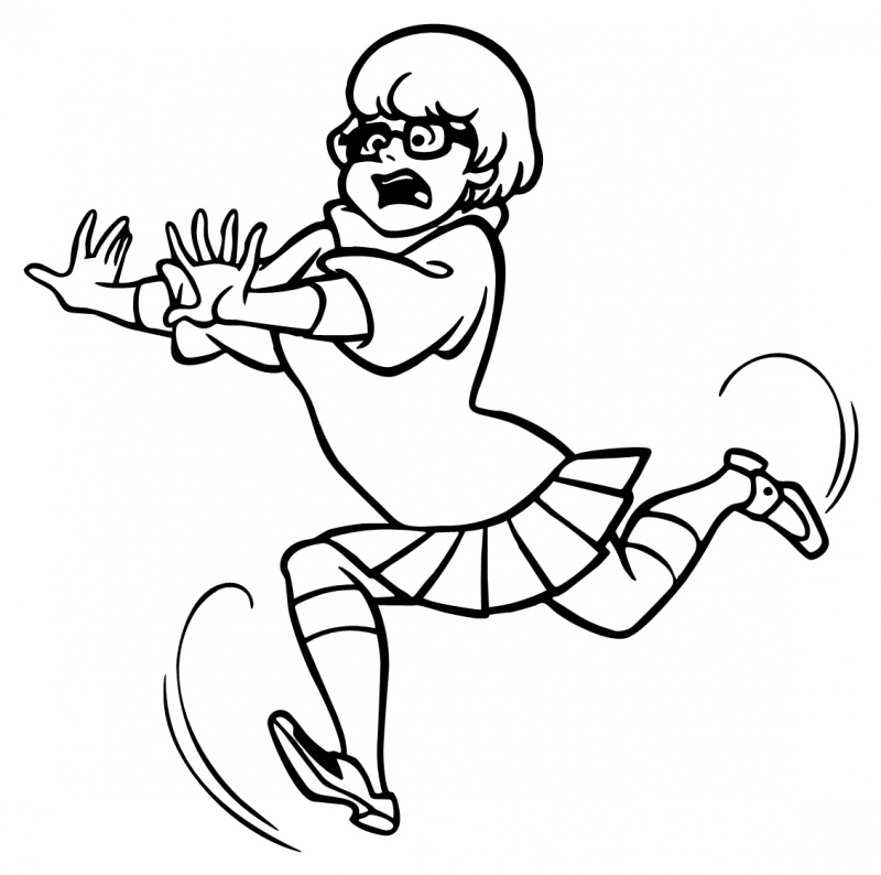 scoo by doo coloring pages - photo#28
