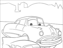 Disney Cars Lightning Mcqueen Coloring Pages (13 Image)