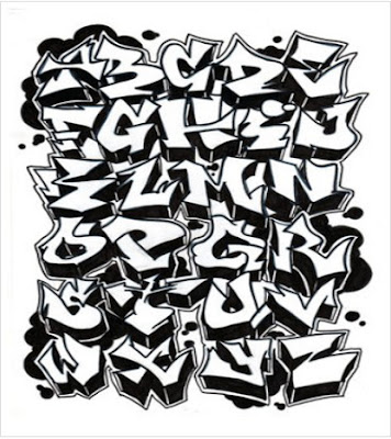 cool graffiti alphabet z. cool graffiti alphabet z.