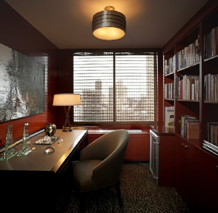 A comfortable home office interior for work for Interior design office new york