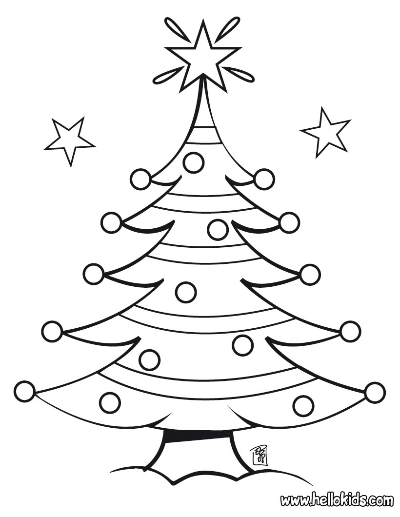 Disney Christmas Coloring Pictures Happy Holiday