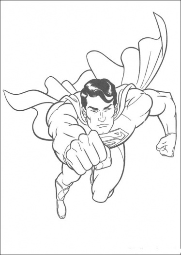 Free printable Superman