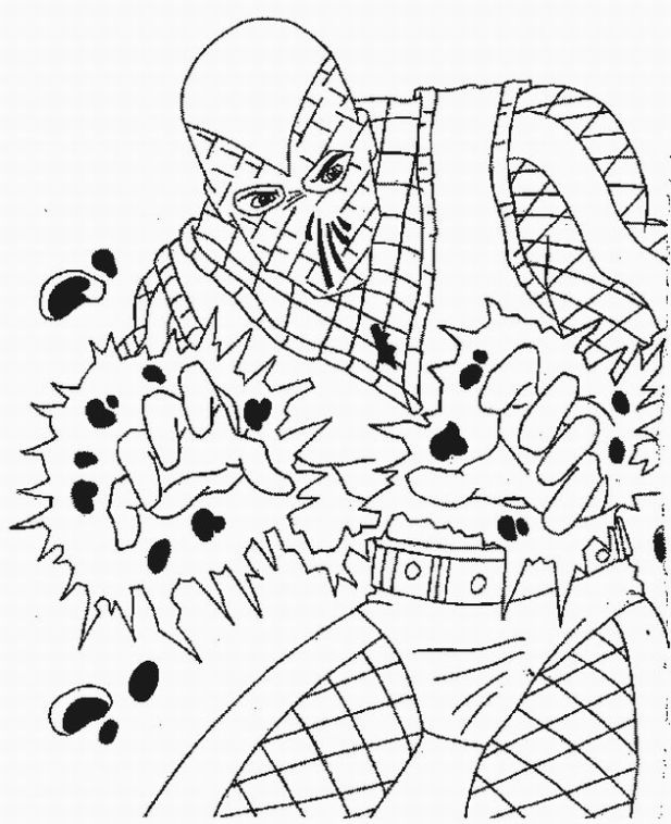 spiderman 3 venom coloring pages - photo#28