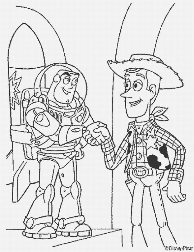 Free printable coloring pages toy story to print for Free printable coloring pages toy story 3