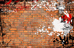 graffiti wall design ideas graffiti on brick wall