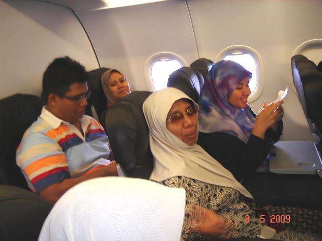 Dalam Penerbangan ke HCM City