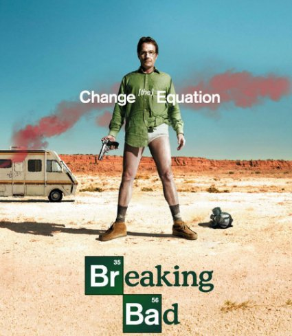 Series actuales que hay que ver:Breaking bad Breaking-bad