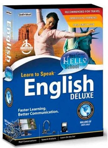 Learn to Speak English Deluxe -eLanguage Japan