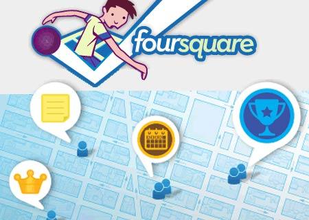 badges que l'on gagne avec Foursquare