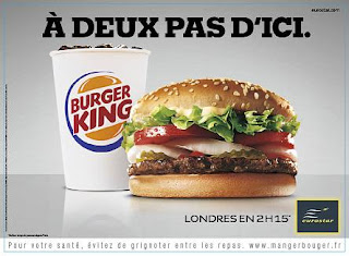 Campagne Eurostar Londres express