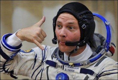 Un astronaute de la Nasa