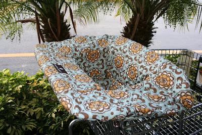 Balboa shopping cart cover
