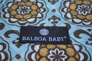Balboa high chair cover