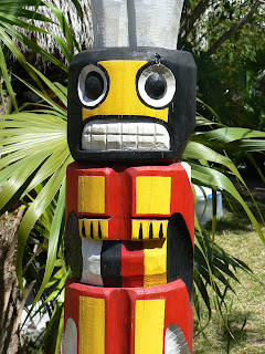 Seminole Totem Pole