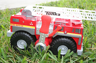 Tonka Strong Arm Fire Engine