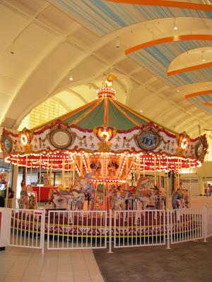 Carousel at Sawgrass Mills Outlet Mall