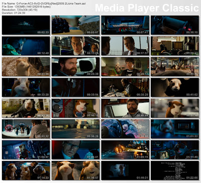 G-Force2009movie DVDRip torrent download Gforceac3xviddvdripned2