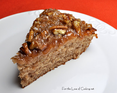 Banana Coffee Cake with Coconut Pecan Frosting | For the ...