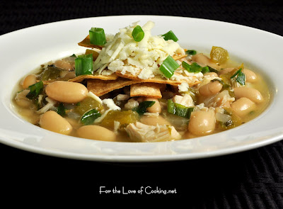 White Bean and Chicken Chili with Roasted Garlic