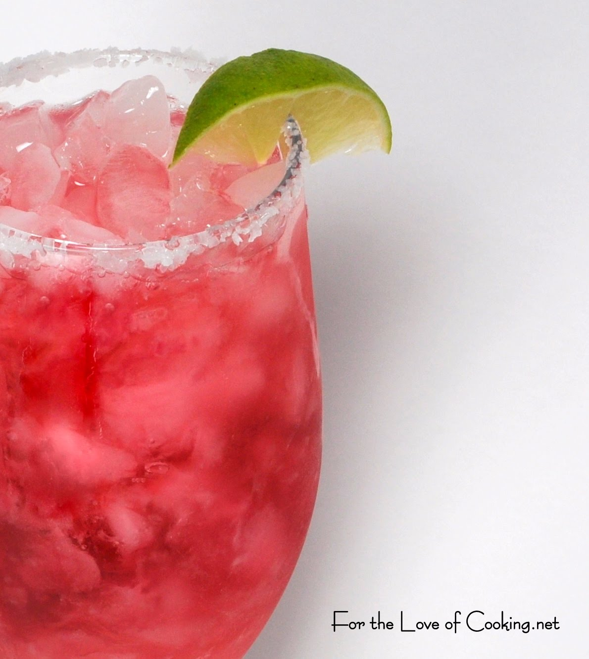 Pomegranate Margarita | For the Love of Cooking