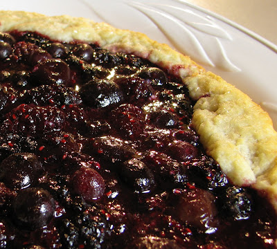 Mixed Berry Galette | For the Love of Cooking