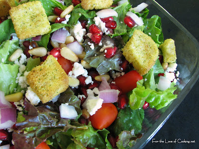 House Salad | For the Love of Cooking