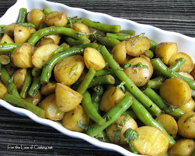 Balsamic Green Bean and Potato Salad