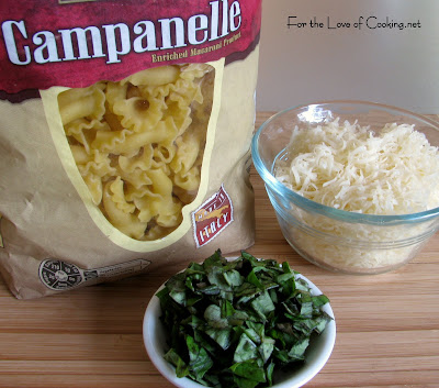 Campanelle with Roasted Vegetables and Marinara | For the Love of ...