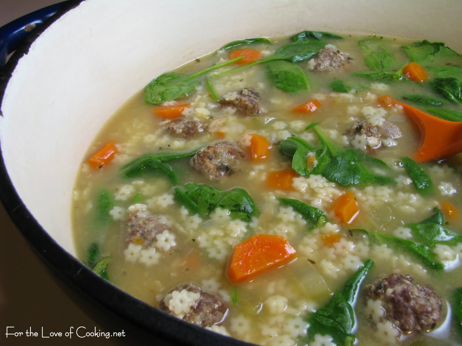 Italian Wedding Soup | For the Love of Cooking