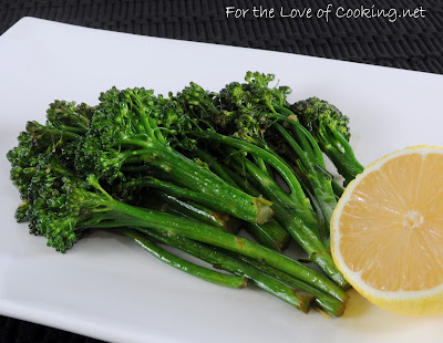 Lemon and Garlic Broccolini