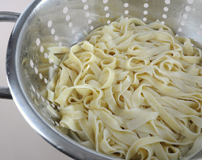 Homemade Fettuccine