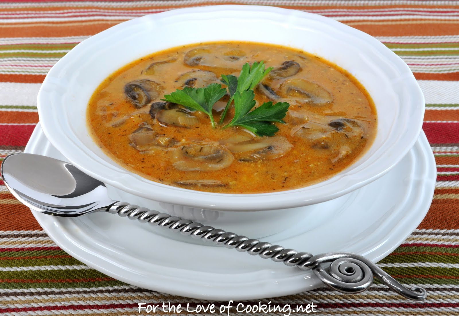 For the Love of Cooking » Hungarian Mushroom Soup