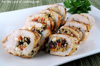 Couscous Stuffed Chicken Breasts