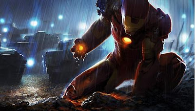 Free Psp Wallpapers Tony Stark Iron Man Psp Wall