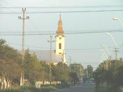 Strada principala din comuna Dudesti Vechi